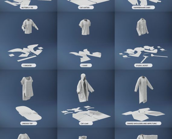 3D服装技能